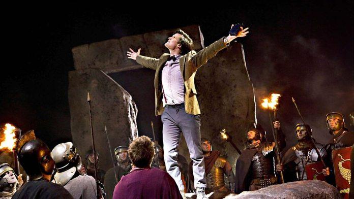 The Doctor (Matt Smith) - Doctor Who - The Pandorica Opens (c) BBC