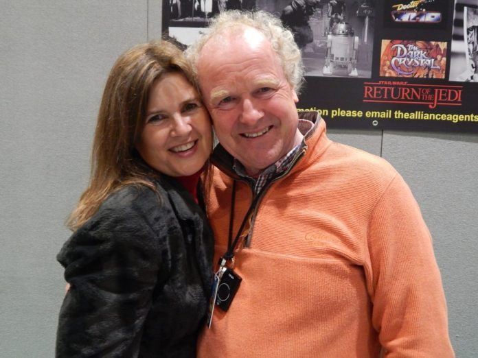 High Spight and Sophie Aldred - MCM Comic Con - Photo Credit Daniel Rice