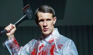Matt Smith as Patrick Bateman in American Psycho