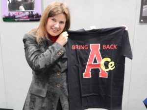 Sophie Aldred at MCM Comic Con June 2016 - Photo Credit Daniel Rice