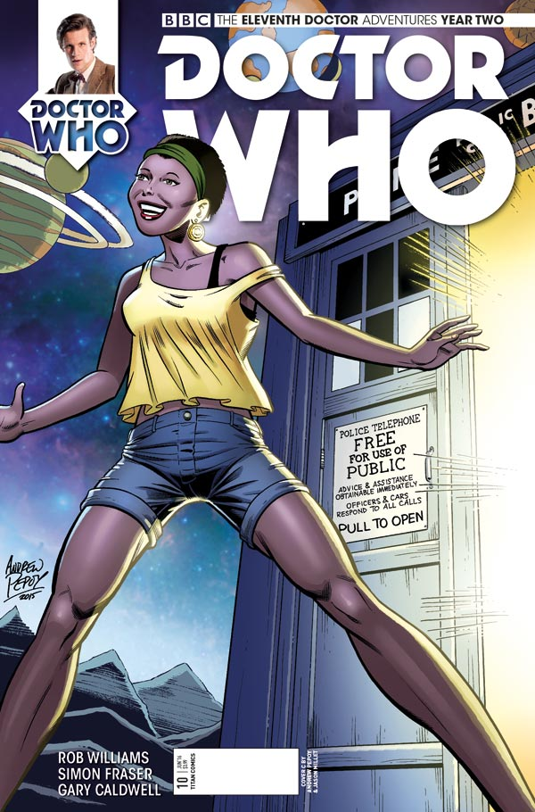 ELEVENTH DOCTOR #2.10 - Cover C