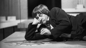 The Doctor (Patrick Troughton) waiitng his fate - Doctor Who - The War Games (c) BBC