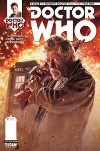 DOCTOR WHO: THE ELEVENTH DOCTOR #2.11 - Cover D by Photo Subscription – Will Brooks