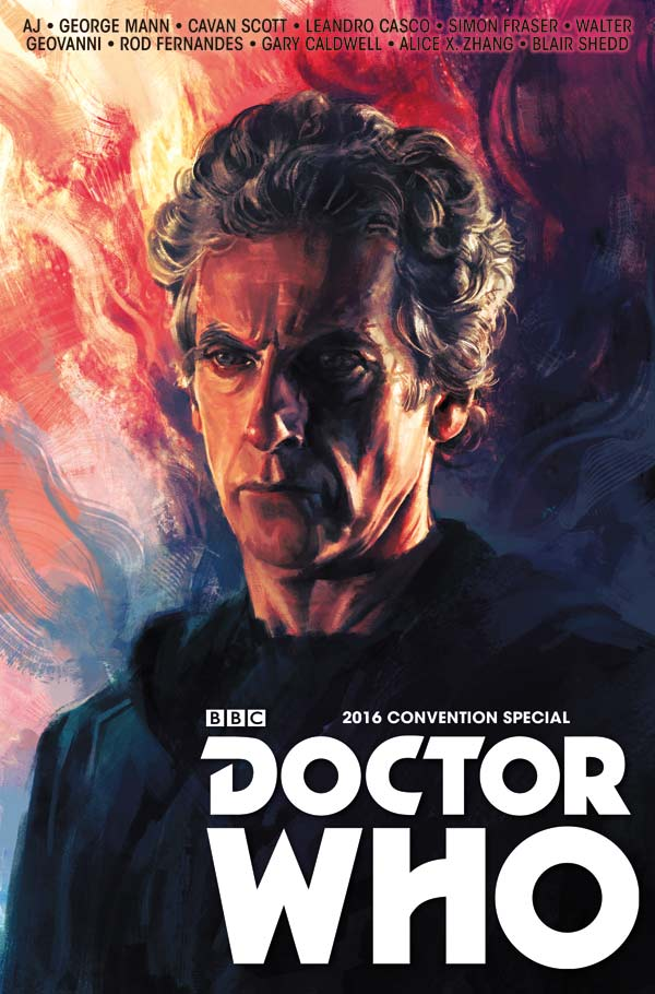Doctor Who Convention Special: The Long Con Cover A: Alice X. Zhang