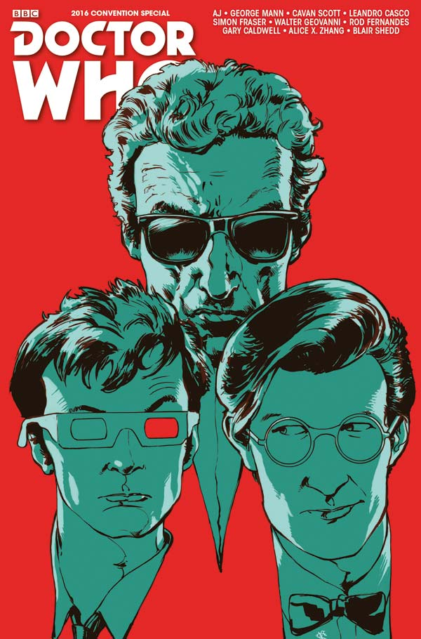 TITAN COMICS - Doctor Who Convention Special Cover B