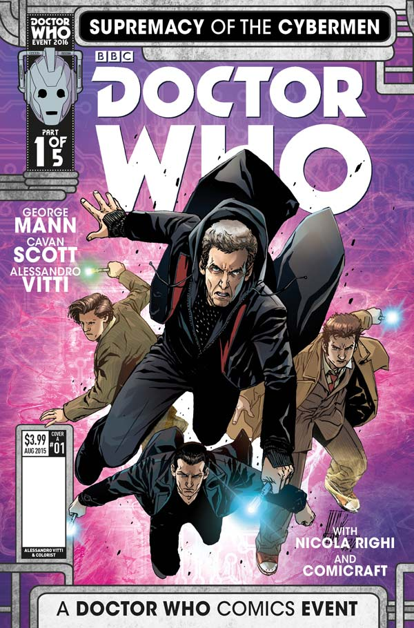 Doctor Who Supremacy of the Cybermen #1 Cover A - Alessandro Vitti