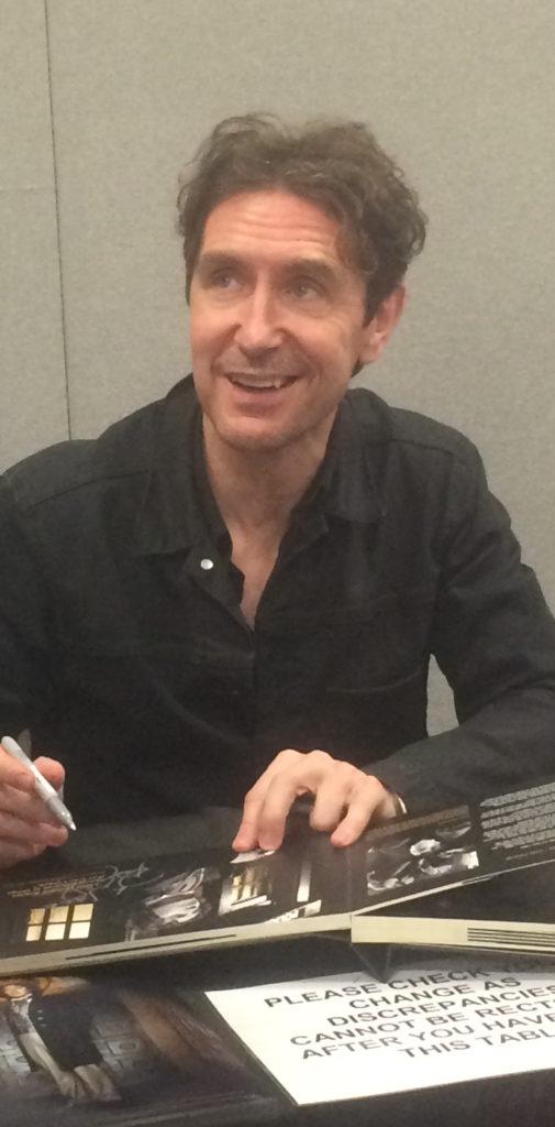 Paul McGann - London Film and Comic Con -  July 2016