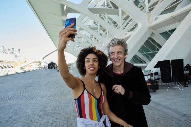 Photo : Copyright © Simon Ridgway, 2016 |www.simonridgway.com |pictures@simonridgway.com | 07973 442527 | Caption : 25.07.16, Doctor Who Series 10 Block 1.