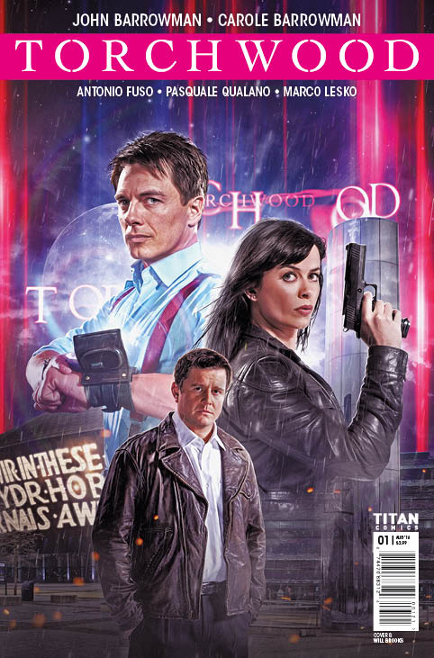 TITAN COMICS TORCHWOOD #1 - COVER B WILL BROOKS