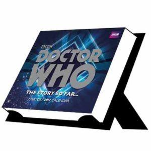 Doctor Who Official 2017 Desk Block Calendar