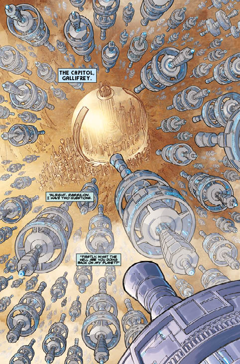 TITAN COMICS - DOCTOR WHO: SUPREMACY OF THE CYBERMEN #2 PREVIEW 1