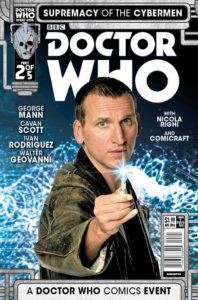 TITAN COMICS - DOCTOR WHO: SUPREMACY OF THE CYBERMEN #2 COVER B PHOTO COVER