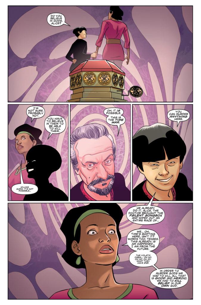 TITAN COMICS - ELEVENTH DOCTOR 2.12 - PREVIEW 1