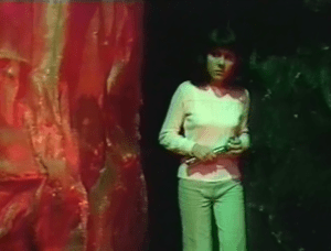 Sarah Jane Smith - Terror of the Zygons - Doctor Who c) BBC