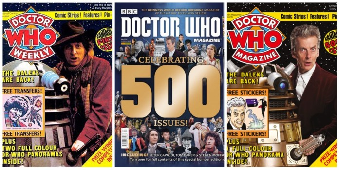 Doctor Who Magazine Issue #500
