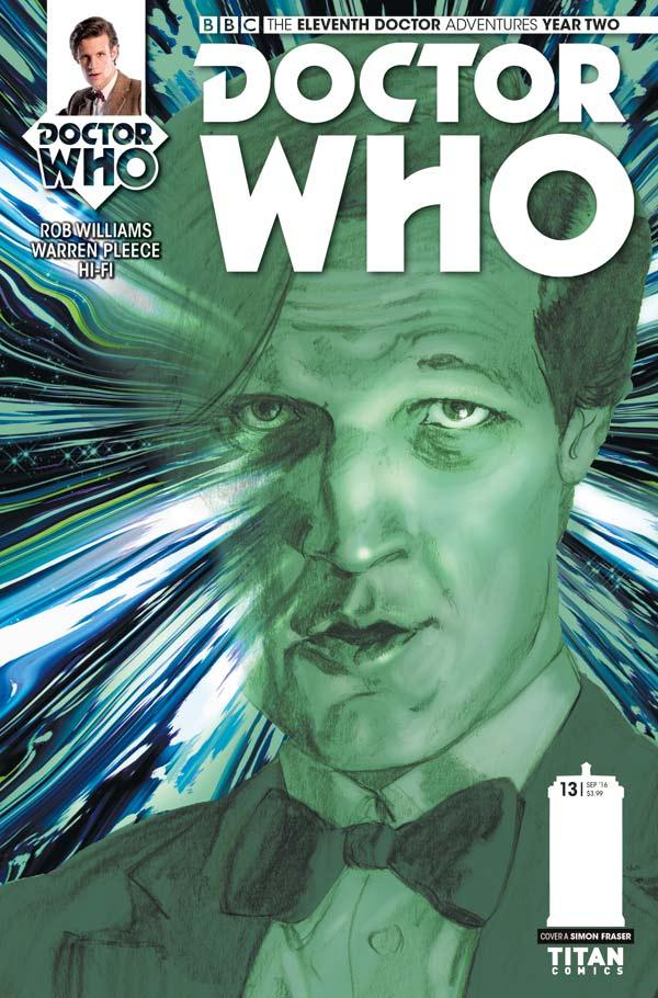 Titan Comics Doctor Who: Eleventh Doctor #2.13 Cover A: Simon Fraser