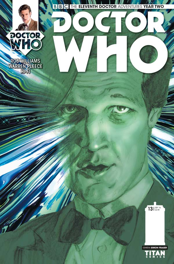 Titan Comics Doctor Who: Eleventh Doctor #2.13 Cover A: Simon Fraser