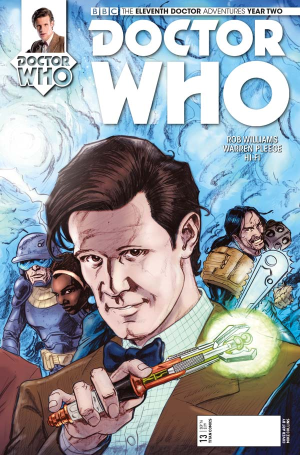 Titan Comics Doctor Who: Eleventh Doctor #2.13 Cover C: Mike Collins (Linked Cover)