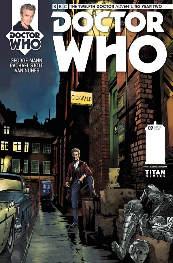 Titan Comics - Doctor Who: Twelfth Doctor #2.9 Cover A: Mariano Laclaustra