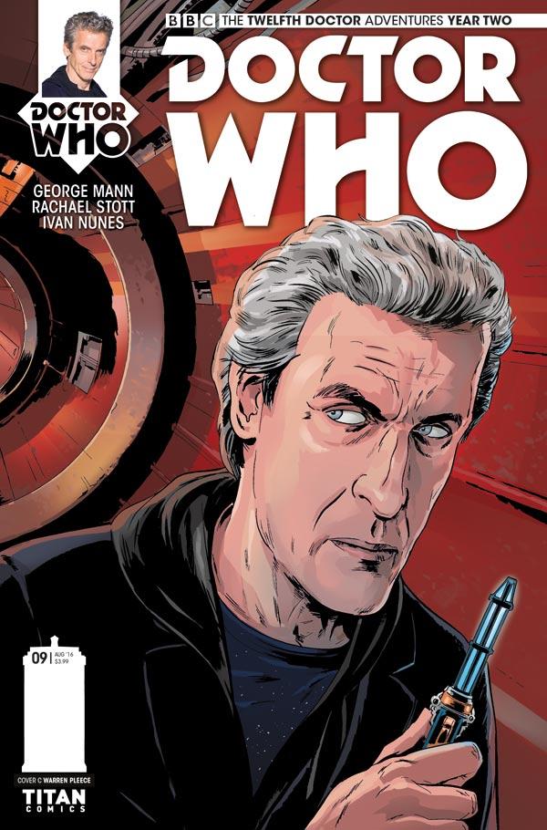 Titan Comics - Doctor Who: Twelfth Doctor #2.9 Cover C: Warren Pleece