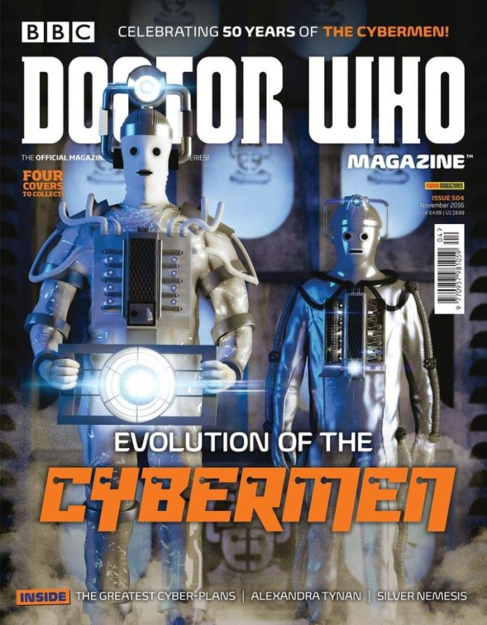 Doctor Who Magazine #504 - Cover 1 of 4