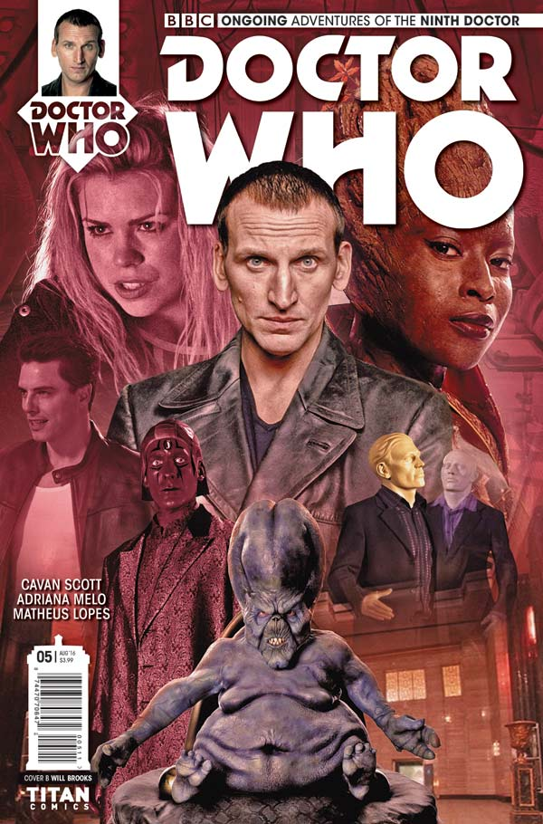 TITAN COMICS NINTH DOCTOR #5 PHOTO COVER