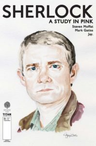 TITAN COMICS - SHERLOCK #4 COVER C BY SIMON MYERS