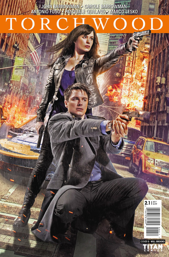 TORCHWOOD #2.1 COVER B BY WILL BROOKS