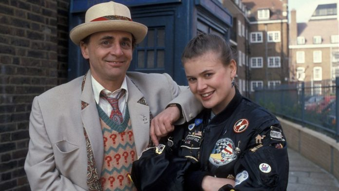 The Doctor (Sylvester McCoy) and Ace (Sophie Aldred) - Doctor Who - (c) BBC