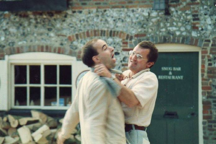 Ian Marter Strangles Nick Briggs