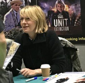 Jemma Redgrave MCM Comic London - October 2016 Photo Rebecca Kurson