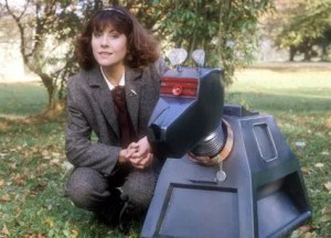 K9 and Sarah Jane Smith (ELIZABETH SLADEN) (c) Doctor Who BBC