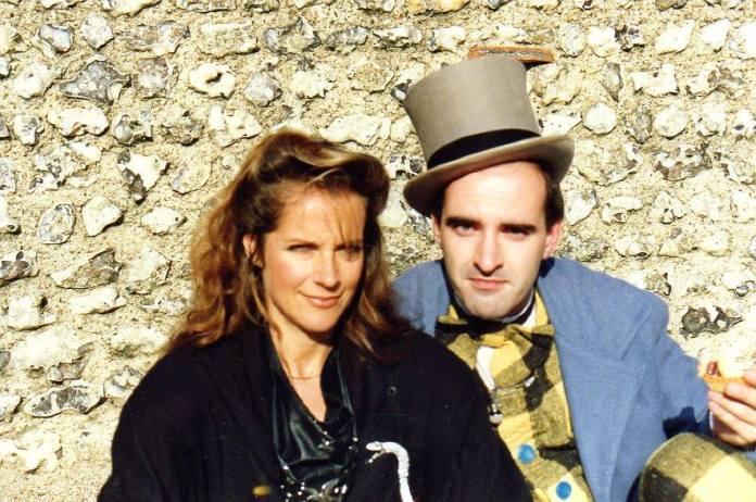 Mary Tam with Nick Briggs