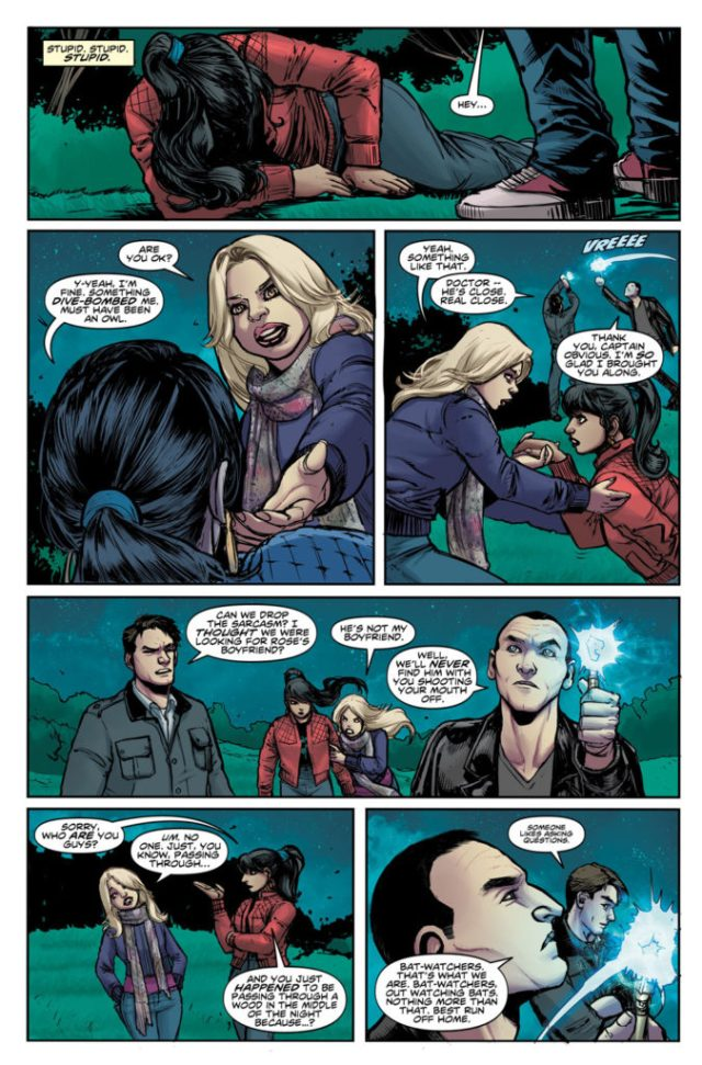 TITAN COMICS - Doctor Who: Ninth Doctor #6 Preview 2