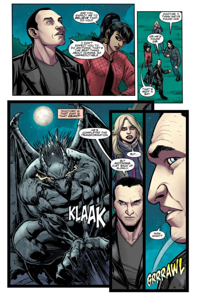 TITAN COMICS - Doctor Who: Ninth Doctor #6 Preview 3