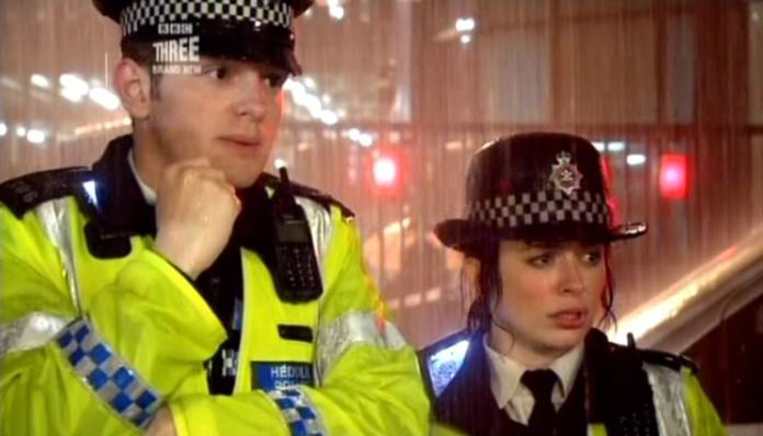 PC Andy and Gwen Cooper - Torchwood (c) BBC