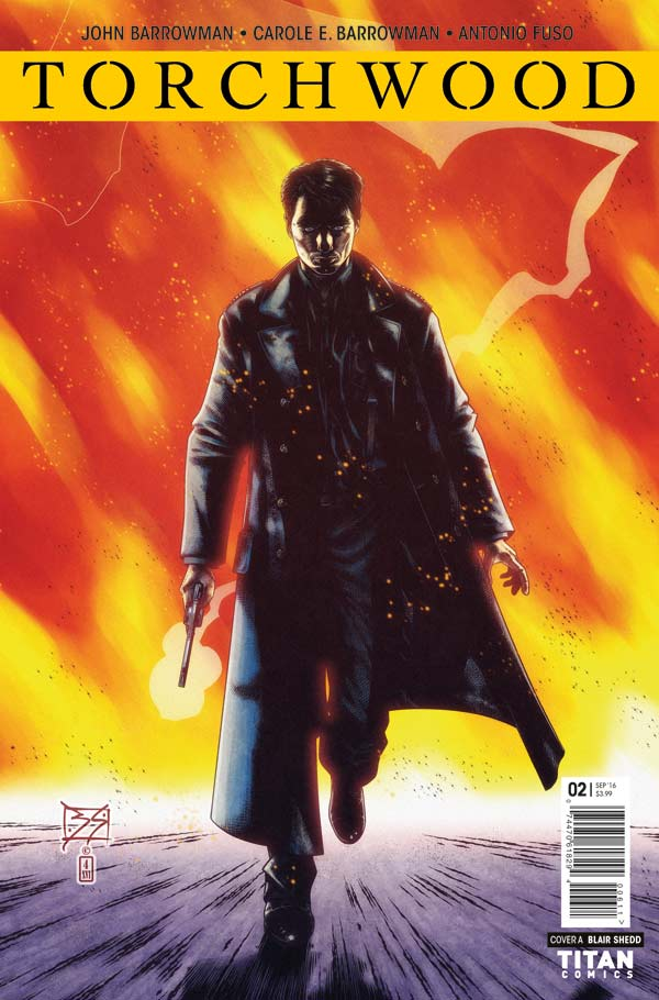 Torchwood #2 Cover A by Blair Shedd