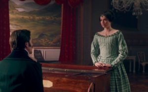 Prince Ernest (David Oakes) and Harriet, Duchess of Sutherland – (Margaret Clunie) - Victoria episode 8 (c) ITV