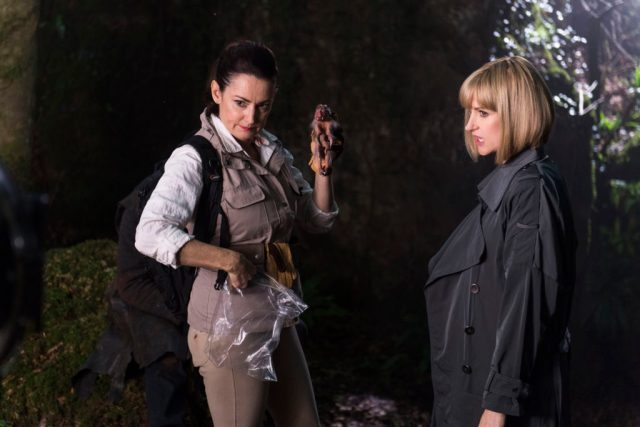 Class - Ep7 (No. 7) - Picture Shows: (L-R) Dorothea (POOKY QUESNEL), Miss Quill (KATHERINE KELLY) - (C) BBC - Photographer: Simon Ridgeway
