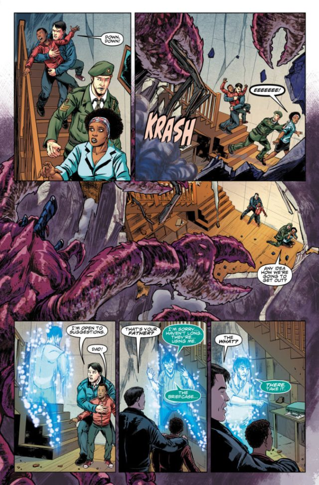 TITAN COMICS - NINTH DOCTOR #7 PREVIEW 3
