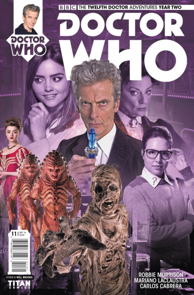 DOCTOR WHO: THE TWELFTH DOCTOR YEAR TWO #11 Cover B by Will Brooks