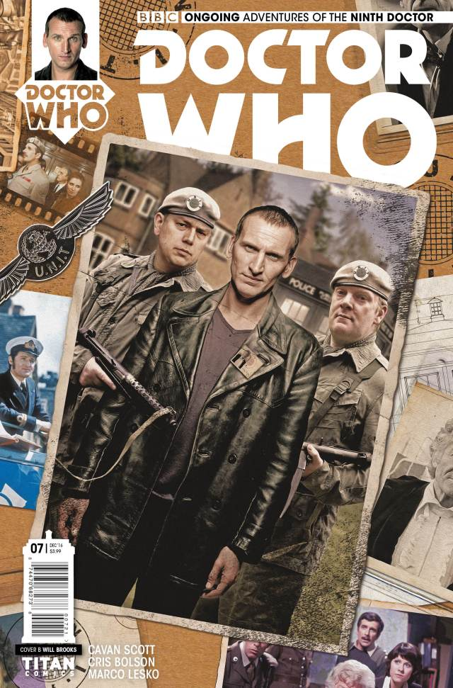 TITAN COMICS - NINTH DOCTOR #7 COVER B BY WILL BROOKS