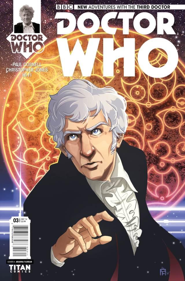 TITAN COMICS - THIRD DOCTOR #3 COVER A BY ARIANNA FLOREAN