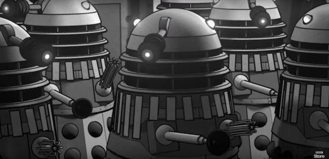 The Power of the Daleks (c) BBC
