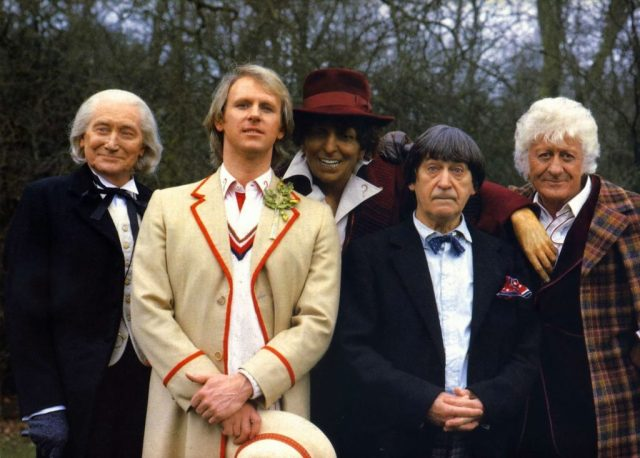 Doctor Who The Five Doctors (c) BBC