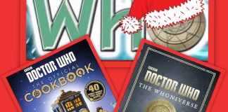 12 Days of Christmas Giveaway - Doctor Who Cookbook and The Whoniverse (c) BBC Books