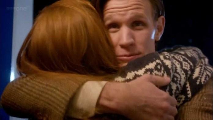 Karen Gillan As Amy Pond, Matt Smith As the Doctor - Doctor Who - The Doctor The Widow and The Wardrobe - (c) BBC