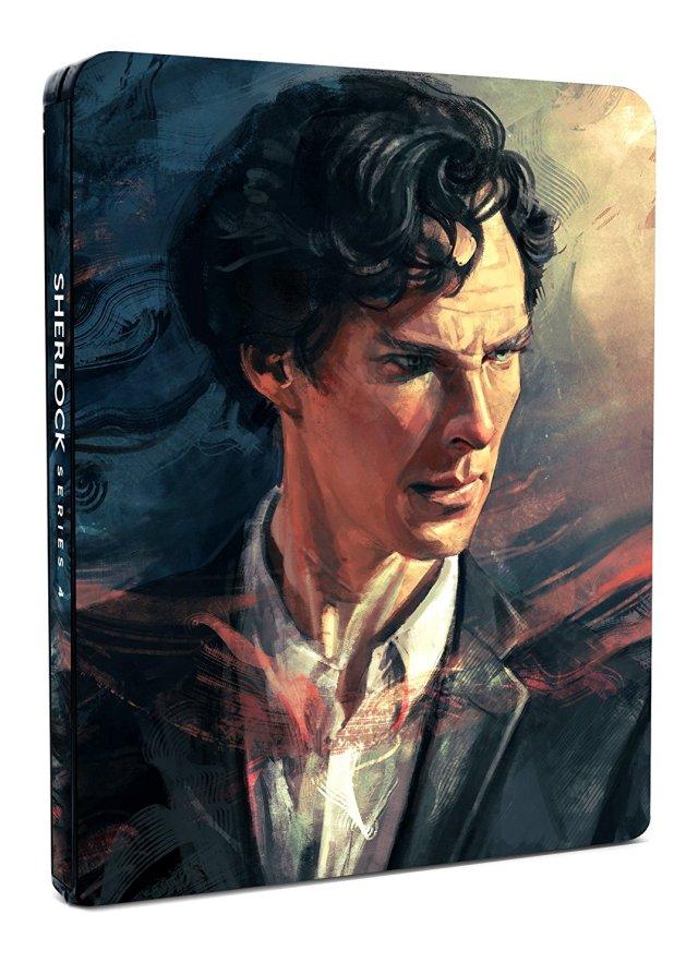 Sherlock Series 4 Steelbook - Amazon.co.uk Exclusive