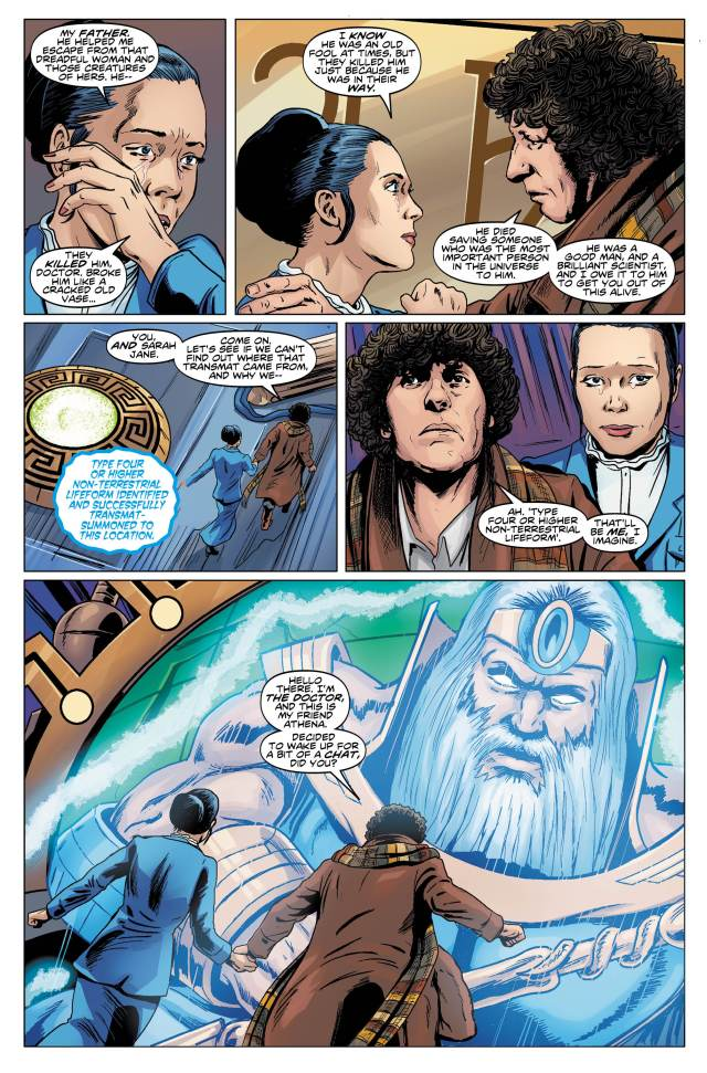 TITAN COMICS - Doctor Who 4th Vol 1 - Preview 1