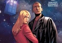TITAN COMICS - NINTH DOCTOR #8 COVER B BY PASQUALE QUALANO